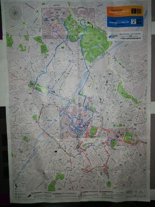 Bruselas mapa