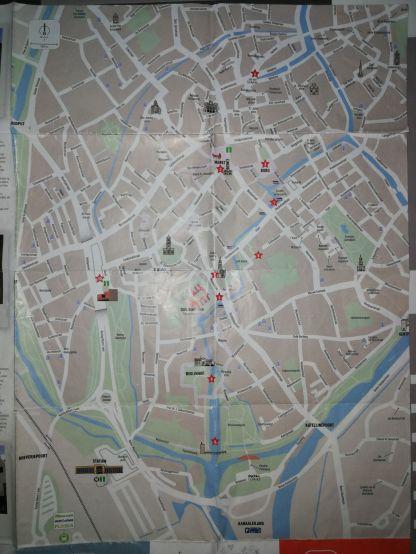 Brujas mapa