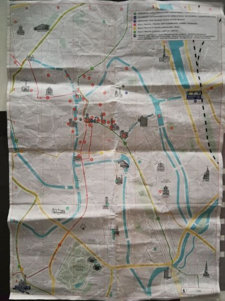 Gante mapa