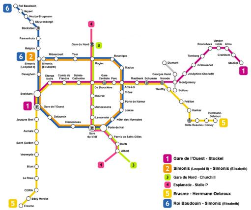 Bruselas metro