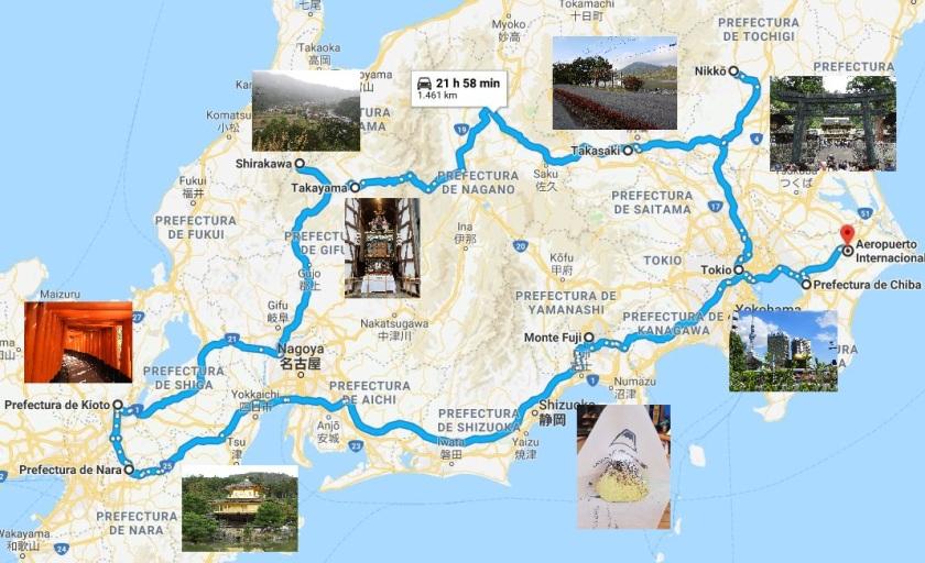 Ruta Japon